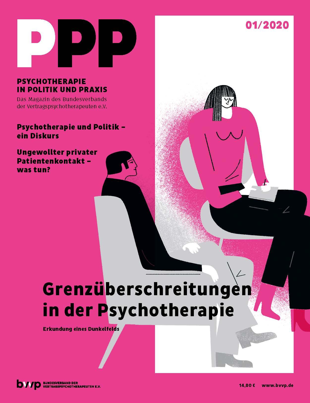 Psychotherapie in Politik und Praxis 01/2020