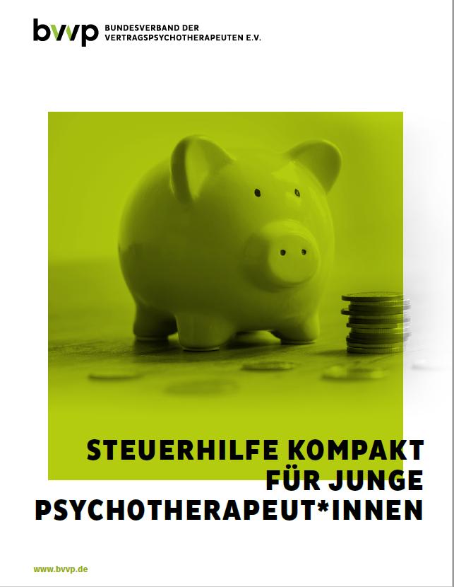 Steuerhilfe kompakt für junge PsychotherapeutInnen