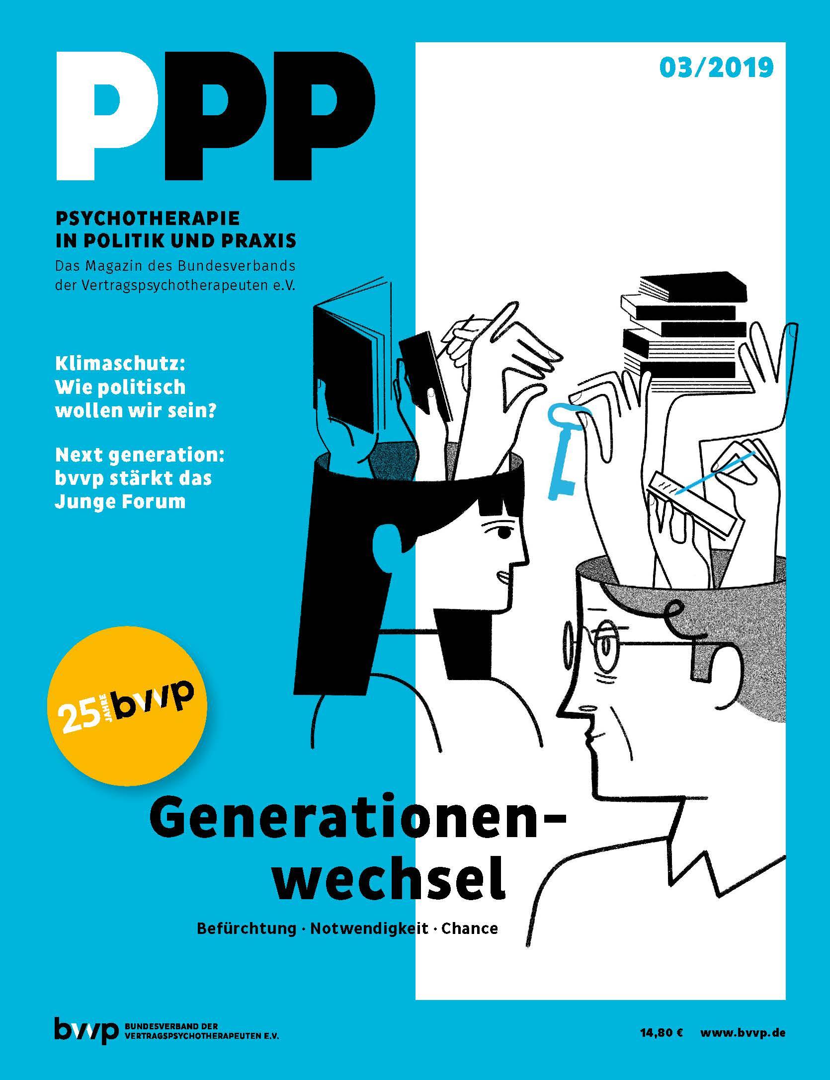 Psychotherapie in Politik und Praxis 03/2019