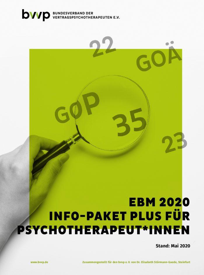 Das EBM-Info-Paket Plus 2020
